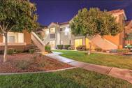 Ritiro Apartments in Peccole Ranch Nevada Apartment Exterior Night Photo