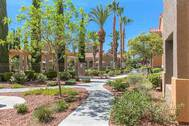 Ritiro Apartments in Peccole Ranch Las Vegas Nevada Walkway Photo